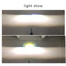 Гибридные линзы LED+LASER 3 дюйма (new 2020!)